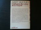 Confessions d'un enfant de La Chapelle. Le Faubourg. Exemplaire du service de presse. . Albert SIMONIN