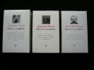 Oeuvres complètes, en 3 volumes.. Gérard de Nerval. Sous la direction de Jean Guillaume et de Claude Pichois.
