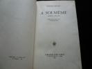 A soi-même. Journal (1867-1915). Notes sur la vie, l'art et les artistes. Odilon Redon
