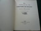 La prodigieuse vie d'Honoré de Balzac. René Benjamin