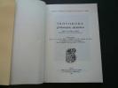 Skovoroda philosophe ukrainien. Colloque tenu le 18 janvier 1973 à l'Institut d'Etudes Slaves de Paris à l'occasion du 250e anniversaire de la ...