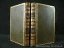 Lettres sur l'Italie. 2 volumes.. Dupaty