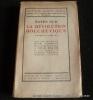 Notes sur la Révolutions Bolchévique (Octobre 1917-Janvier 1919). Capitaine Jacques Sadoul. Préface de Henri Barbusse.