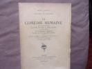Oeuvres complètes- tome IV la comédie humaine. Honoré De Balzac
