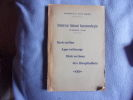 Sanatorium national Vancauwenberghue-instruction-apprentissage. Collectif