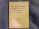 Le corps médical français et la restauration nationale. Charles Maurras