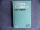 L'Encyclopédie. Diderot/d'Alembert