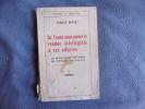La franc-maçonnerie rendue intelligible à ses adeptes-1 l'apprenti. Oswald Wirth
