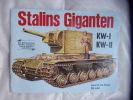Stalins giganten KW-I KW-2. Collectif
