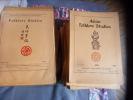 Asian folklore studies-puis folklore studies. Collectif