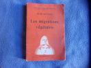 Les migrations végétales. René Bouvier