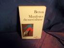 Manifestes du surréalisme. Breton