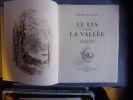Le lys dans la vallée. Honoré De Balzac