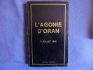 L'agonie doran 5 juillet 1962. Genevièvre De Ternant
