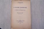L'aviation marchande et le régime d'économie mixte. Préface de M. G. Ripert.. NOLHIER-ADOLPHE L.
