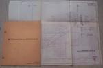 AVION J.P. 20. Moteur Continental A65 Série 8. Détermination de perforemances. Devis de poids, centrage..