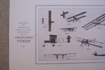 Aéroplanes G. VOISIN. Usines et bureaux 36 Boulevard Gambetta à Issy-les-Moulineaux. .