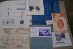 INSTRUMENTS, ACCESSOIRES  AVIATION: Trains d'atterrissage MESSIER. Carburettors CLAUDEL-HOBSON. Instruments de navigation TOPOPLASTIC. Tabeau de ...