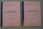 Manuel d'exploitation des enregistrements d'essais en vol. Tome 1: formulaire. Tome II: tables numériques.. RENAUDIE J. et F. FILLON
