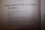 LE TRANSPORT AERIEN DU FRET..