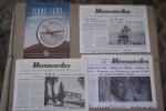 AIR FRANCE: Paris-Casablanca-Dakar Eté 1938. Services aériens au départ de Paris Eté 1936. Nantes-Maroc, 1949.  TERRE & CIEL N° 3 (Avril 1946). Air ...