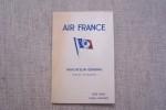Indicateur général(France et Colonies) AIR FRANCE Eté 1935..