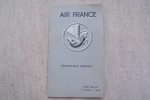 AIR FRANCE Indicateur général Hiver 1934-35 (1er Novembre - 31 Mars)..