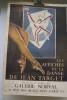 Les affiches de la danse de Jean TARGET du 18 au 25 Avril 1957 Galerie Norval, 14 rue des Beaux-Arts, Paris.. TARGET Jean
