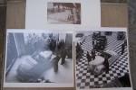AUTOMOBILE PHOTOGRAPHIES: Tricycle à pétrole. Renault. Michelin..