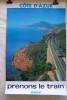 """AFFICHES SNCF et CHEMIN DE FER Format 62x100 cm. Série """"découvrez la France avec le train): ROUERGUE 1977 N°40, BRETAGNE 1977 N°39,JURA 1978 N°128. ..."""