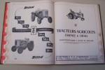 TRACTOCATALOGUE 1955 Guide pratique de la réparation, de l'entretien et de la vente..
