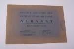 Société Anonyme des Anciens Etablissements ALBARET(1920) à Rantigny(Oise). Historique, batteuse légère type K, Type M. Modèle 1920, Type G. Modèle ...