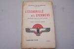 L'Escadrille des Eperviers. Impressions vécues de guerre aérienne. Préface de Maurice Barrès.. DELACOMMUNE Charles
