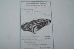 Carrosseries Sport sur châssis C.S. des Ateliers Germain LAMBERT à Giromagny..