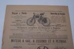 """Voitures Auto-Boguei, voitures légères DULAC, tricycles à pétrole modèle 1899 avec moteur DE DION 1 cheval 3/4, moteurs industriels """"Gardner"""".."""