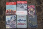 Salon de l'Automobile: L'Illustration du 19 Octobre 1940,  Le Monde Illustré d'Octobre 1947, Réalités 1949 et 1954, Elites Françaises d'Octobre 1948 ...