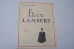 La nouvelle 6 CV  LAMBERT, à Giromagny (1948). .