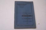 Catalogue Spécial des accossoires pour automobiles et cyclecars.B L'Intermédiaire Automobile, G. Loisel, Mellet & Champagne, 17 rue Monsigny, Paris, ...