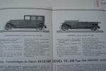 La 10-12 HP ZEDEL 75-120 Type CI-6  1922-1923..
