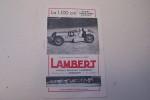 La 1100 cm3 sport, grand sport, course LAMBERT Ateliers Germain Lambert à Giromagny (Territoire de Belfort)..