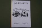 Les Avions de la Route. Bulletins Nos 1 -Juillet 1995), 2, 3, 4, 5(Mai 1997), 8 (Mai 98). .