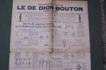 Complément au Journal LE DE DION-BOUTON (1902 à 1926). Liste  des plus importants Brevets pris par les Etablissements De Dion-Bouton de 1883 à 1926..