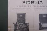 Automobiles à vapeur FIDELIA à Angers (Maine-et-Loire)..