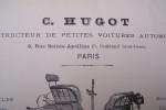 C. HUGOT: Constructeur de petites voitures automobiles, 8 rue Sainte-Apolline à Paris..