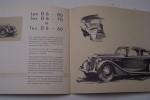 """DELAGE """"La belle voiture française"""". Carrosseries 12 à 25 CV: Les D8-100 et D8-120, D6-80, D6-70, D6-60, DI-12.."""