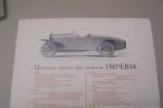 Automobiles IMPERIA à Nessonvaux lez Liège. 1925..