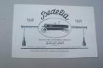 """Société des automobiles Bedelia, à Levallois Perret: BEDELIA Salon 1923. Types MT Sport, ME """"Populaire"""".."""