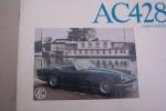 AC428 convertible. A.C. Cars Ltd. Thames Ditton, Surrey..