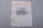Pendant les vacances 1896 on ne trouvera des VOITURETTES Léon Bollée HURTU (Diligeon E.C.P. & Cie) constructeurs et des TRICYCLES de DION BOUTON & Cie ...