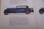 AUSTRO DAIMLER 8 Zylinder. Sedan 5-sitzig. Cabriolet 4-sitzig. Innenlenker-limousine 7-sitzig..